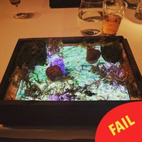 This fancy restaurant is serving food on iPads and we have had it, officially