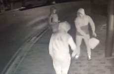 Three men caught on camera destroying €2,000 defibrillator
