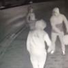 Three men caught on camera destroying €2,000 defibrillator