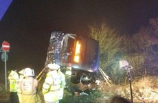 17 people hospitalised after coach overturned in heavy fog in the UK