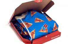 Domino's is releasing a 'wipeable onesie' just in time for your New Year's Day hangover