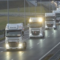 Truckers across Poland sound their horns as owner of lorry used in Berlin attack laid to rest