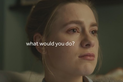 Television advert for the What Would You Do? ad campaign.