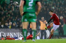 Erasmus' Munster battle to away win against Connacht in the Galway rain