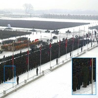 Giant North Korean Mourner Of The Day