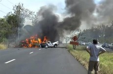 25 people killed as van and truck collide in Thailand