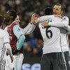 Ibra, Mata and a controversial red card help Manchester United to sixth straight win