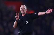 Neville leads pundits' criticism of referee Dean after Feghouli red card