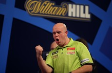 Michael van Gerwen reclaims world darts title with imperious display