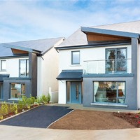 There are just two large, modern homes left in this Gorey development