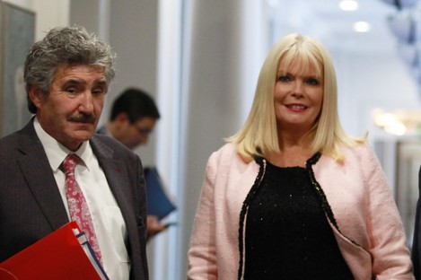 Junior Minister John Halligan and Jobs Minister Mary Mitchell O'Connor.
