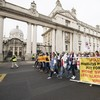 """""""I think people are very angry"""": Protesters call for action on homelessness in Dublin march"""