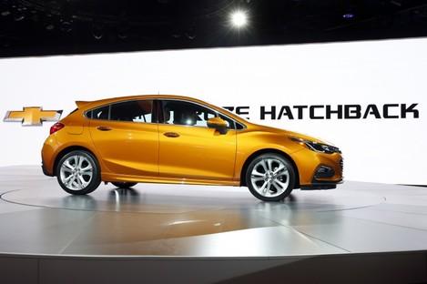 The Chevrolet Cruze hatchback.