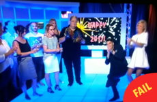 An Australian TV show hosted what could be the world's saddest New Year's countdown