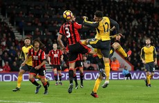 Giroud inspires Arsenal fightback from 3-0 down in Bournemouth