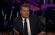 James Corden returned to US telly with an emotional tribute to George Michael