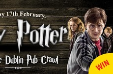 There's a Harry Potter pub crawl happening in Dublin next month