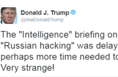 Donald Trump tweets backing of Julian Assange and mocks US intelligence agencies