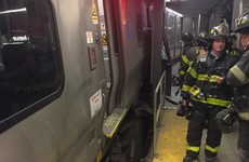 Over 100 people injured after train derails in Brooklyn
