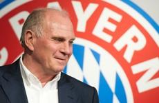 Uli Hoeness tells Bayern Munich players to speak German or pay up