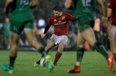 'Rassie always preaches 'play what you see', even if it's on your own try-line' -- Keatley