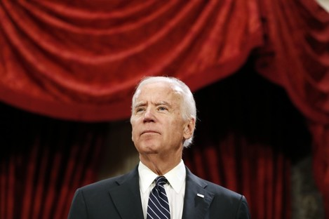 Biden made the comments in an interview aired yesterday.