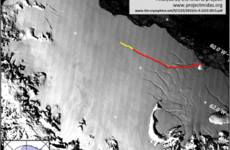 An iceberg the size of Mayo is about to break off Antarctica - and could start a chain reaction