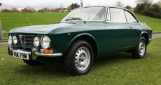 The classic Alfa Romeo GT Veloce 2000 is one seriously beautiful car