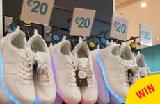 Penneys is selling light-up runners and it's just pure nostalgia