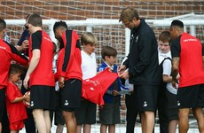 Liverpool players asked to stop signing autographs over safety fears