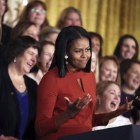 Tearful Michelle Obama gives emotional final speech as first lady