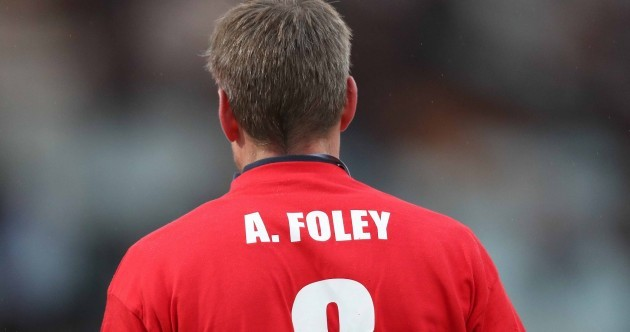 O'Gara leads the tributes as Racing 92 pay their respects to Anthony Foley