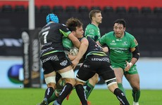 Connacht injury problems grow as Ospreys profit from bright start