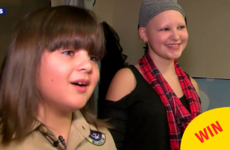 This kid grew out his hair for 2 years to make a wig for his friend with alopecia