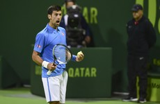Djokovic admits 'unacceptable' to hit ball into Qatar crowd