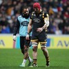 'It was an outstanding 35 seconds': Haskell's long-awaited return short-lived after head collision