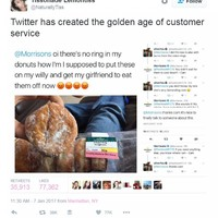 This supermarket's response to a customer's 'sex doughnut' query is customer service at its finest