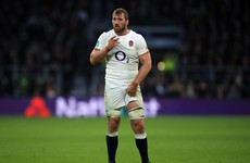 England flanker Robshaw ruled out of Six Nations defence with shoulder injury