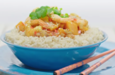 Fragrant Prawn And Coconut Curry