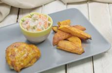Peri Peri Chicken And Homemade Coleslaw