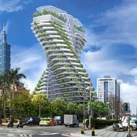Take a look inside Taiwan's environmentally-friendly twisting tower