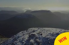 A photographer climbed Carrauntoohil and captured some glorious drone footage