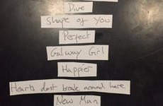 Ed Sheeran has a song called 'Galway Girl' on his new album... it's the Dredge