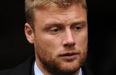 Flintoff admits to suffering from depression