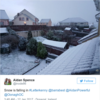 Letterkenny has been blessed with snow this morning, the lucky sods