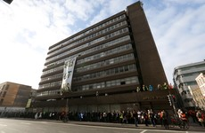 Apollo House occupation: One resident remains inside the building