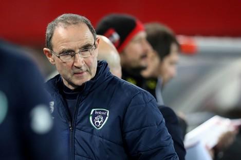 Ireland manager Martin O'Neill.