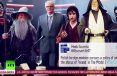 Watch: The bizarre moment US news network C-Span was 'taken over' by Russia Today