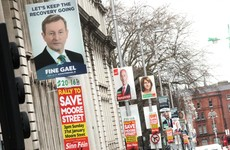 Irish political parties spent over €416k on election posters last year