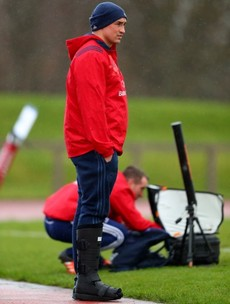 Long lay-offs for Copeland and Arnold but Munster optimistic on O'Donnell